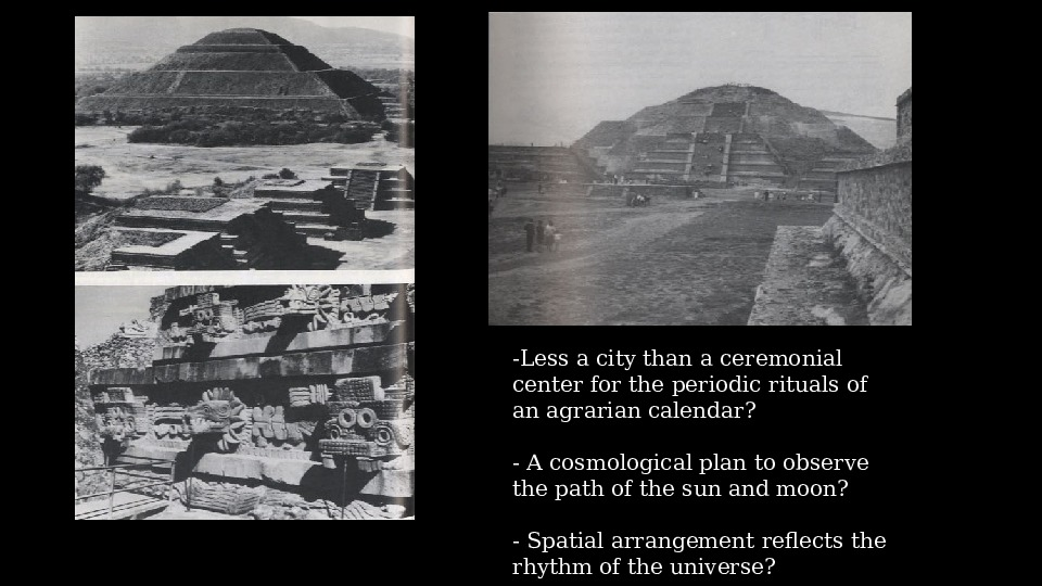 monumental architecture in early civilizations